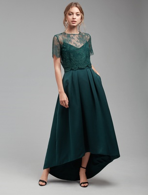 Anina - Forest Green Lace