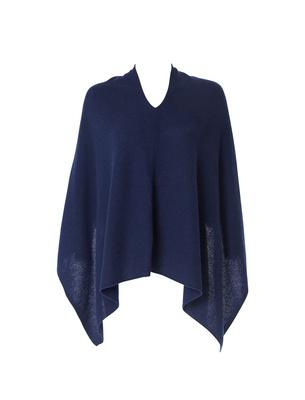 Poncho - Midnight Blue