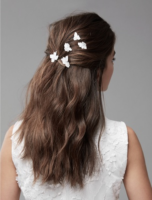 Hair Pins - Ivory