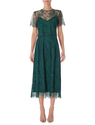 Stella - Forest Green Lace