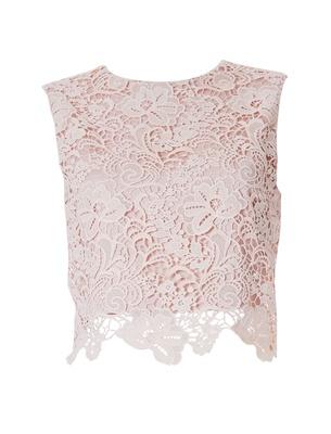 Olivia - Faded Blush Guipure Lace