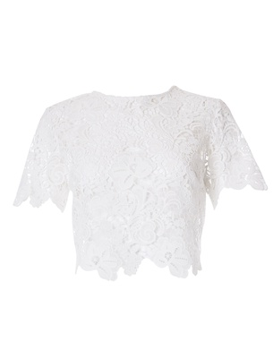 Anina - Ivory Guipure Lace