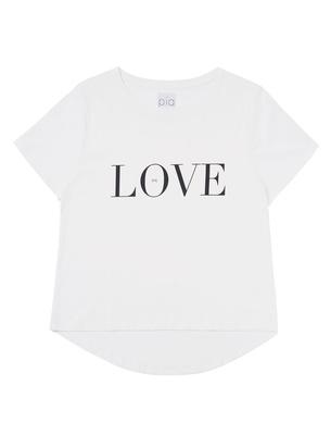 T-Shirt - Ivory Love