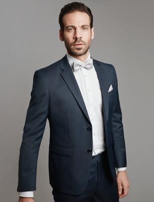 Bow Tie - Silver Grey