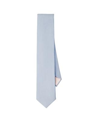 Necktie - Silver Dove