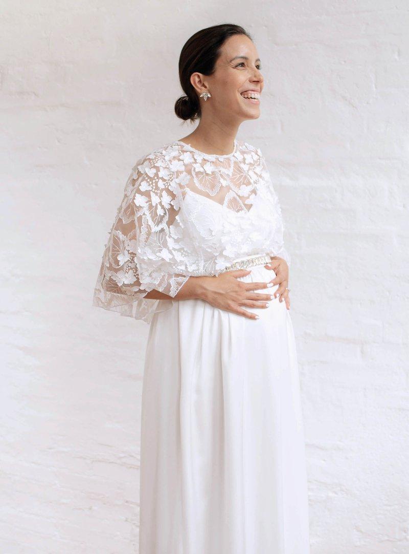 hochzeitskleider & brautmode für schwangere | piqyourdress