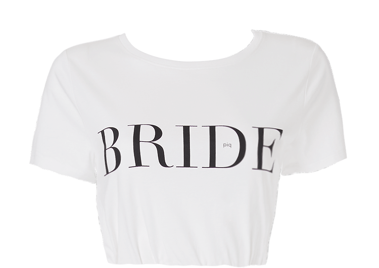 64ae7c53a7b7 T-SHIRT Top - Ivory Bride